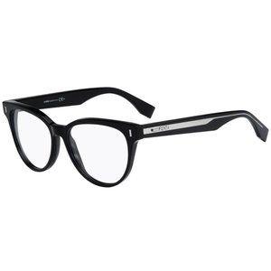 BRAND NEW FENDI Black Ff0164 Vjg00 / Clear